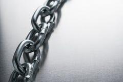 Il concetto della tecnologia della catena del blok Fotografie Stock Libere da Diritti