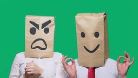 Il concetto delle emozioni e dei gesti   fotografie stock