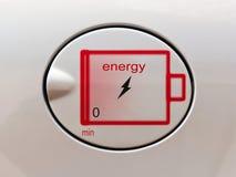 Il concetto di combustibile rispettoso dell'ambiente Immagine Stock