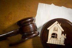 Il concetto di divisione della proprietà immagine stock libera da diritti