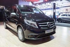 Il concetto di Mercedes-Benz Vito ha mostrato in Tailandia trentasettesima Bangkok fotografia stock
