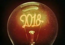 Il concetto di nuovo 2018 Immagini Stock