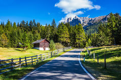 Il concetto di turismo ecologico Immagini Stock