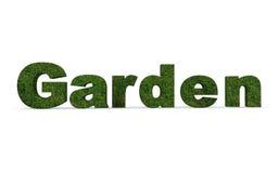 Il concetto esprime le erbe del giardino Fotografia Stock Libera da Diritti