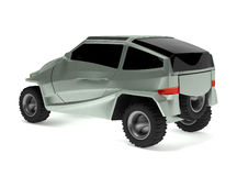 Il concetto fuori strada dell'automobile è chiamato Rex Immagine Stock