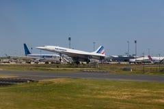 Il Concorde Immagini Stock