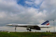 Il Concorde pensionato Fotografia Stock