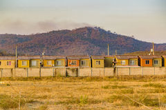 Il condominio di periferia di Guayaquil alloggia le facciate Fotografie Stock