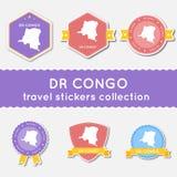 Il Congo, repubblica democratica del viaggio Immagine Stock