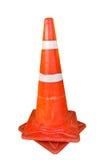 Il cono di plastica arancione Fotografie Stock Libere da Diritti