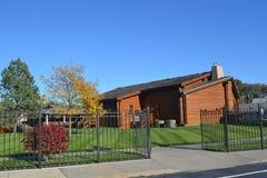 Il Consiglio del tabernacolo di Kanesville fa il bluff lo Iowa Fotografie Stock Libere da Diritti