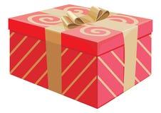 Il contenitore di regalo Immagine Stock Libera da Diritti