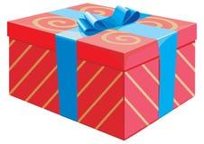 Il contenitore di regalo Immagine Stock