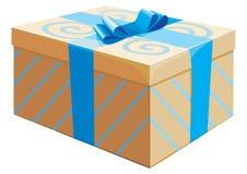 Il contenitore di regalo Fotografie Stock