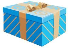 Il contenitore di regalo Immagini Stock