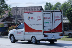 Il contenitore prende il camion di KCG Kim Chua Group Fotografia Stock