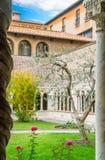 Il convento della basilica del san John Lateran a Roma Fotografia Stock