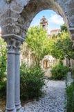 Il convento della chiesa & del x22 arabo-normanni; Degli Eremiti& x22 di San Giovanni; a Palermo sicily immagini stock libere da diritti