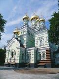 Il convento della Vergine Santa a Kiev, Ucraina, estate 2016 Fotografia Stock Libera da Diritti