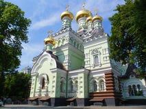 Il convento della Vergine Santa a Kiev, Ucraina, estate 2016 Immagini Stock Libere da Diritti