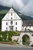 Il convento di Engelberg sulla Svizzera Fotografia Stock