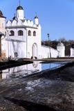 Il convento in Suzdal' Fotografie Stock