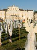 Il coro di Angelsâ, villa Manin, Italia Immagini Stock