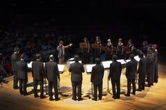 Il coro raggruppa a Buenos Aires Fotografia Stock Libera da Diritti