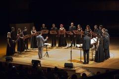 Il coro raggruppa a Buenos Aires Immagini Stock