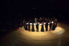 Il coro raggruppa a Buenos Aires Fotografia Stock