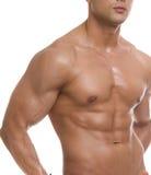 Il corpo maschio. Fotografie Stock Libere da Diritti