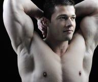 Il corpo maschio perfetto Immagini Stock Libere da Diritti
