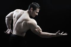 Il corpo maschio perfetto Immagine Stock Libera da Diritti