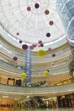 Il corridoio commerciale della costruzione memorizza l'acquisto a Chang-Sha Wanda Plaza, centro commerciale Fotografie Stock Libere da Diritti