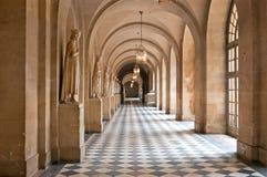 Il corridoio del palazzo di Versailles Fotografie Stock Libere da Diritti