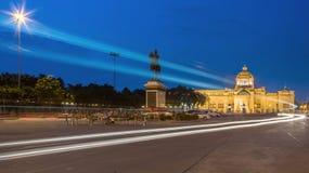 Il corridoio del trono di Ananta Samakhom Immagini Stock Libere da Diritti