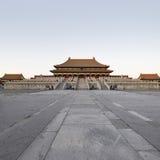 Il Corridoio di armonia suprema in palazzo imperiale Immagine Stock Libera da Diritti