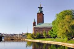 Il corridoio di città, Stoccolma Immagini Stock
