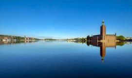 Il corridoio di città, Stoccolma Immagini Stock Libere da Diritti