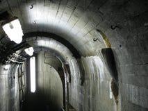 Il corridoio di servizio all'interno argina a Brno Fotografia Stock
