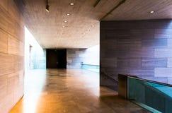 Il corridoio nella costruzione orientale del National Gallery di arte, era Fotografia Stock Libera da Diritti