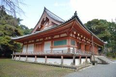 Il corridoio principale del tempio di Daigoji Immagini Stock