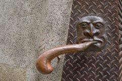 Il corrimano decorativo Fotografie Stock Libere da Diritti