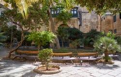 Il cortile del ` s di principe Alfred del palazzo del ` s del grande Maestro valle Fotografia Stock Libera da Diritti