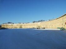 Il cortile della fortezza di Kiev immagine stock