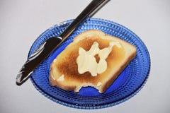 Il ` così saporito t del couldn del pane tostato I resiste a prendere un morso! fotografie stock libere da diritti