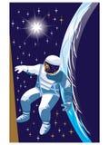 Il cosmonauta Fotografie Stock Libere da Diritti