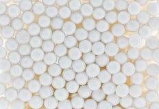 Il cotone germoglia il fondo Fotografia Stock Libera da Diritti