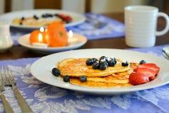 Il cottage agglutina per la prima colazione immagine stock