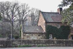 Il cottage del cuoco, un punto di riferimento storico importante a Melbourne Fotografia Stock Libera da Diritti